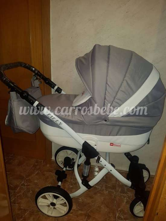 carro bebe gris lilly.